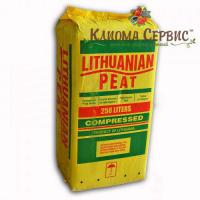 "Торф прибалтийский ""Lithuanian peat"" в мешках по 250 л, 3.5-4.5 Ph, фракция 0-10 мм"