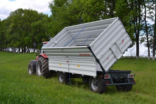 Прицеп тракторный самосвальный 2ТСП-21 грузоподъемность до 16 т.