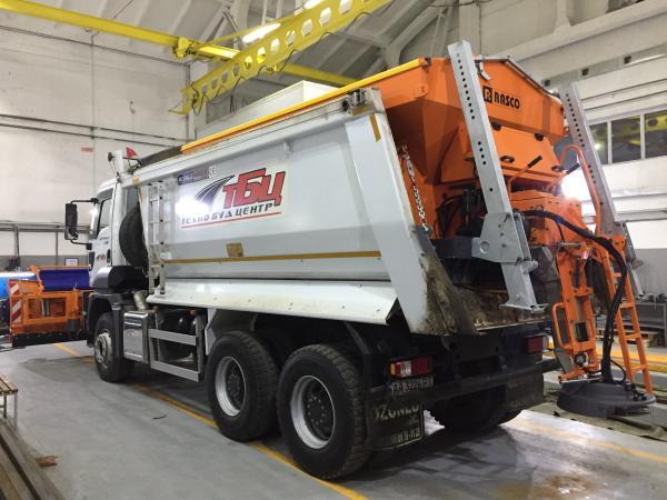 Солеразбрасыватель Rasco Ford Trucks 3542DC, Mosor PK 3.2 m