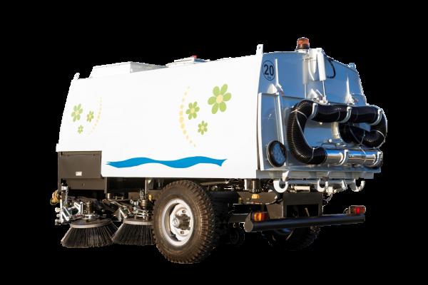Вакуумный подметально-уборочный пылесос Erdemli (тракторный прицеп)