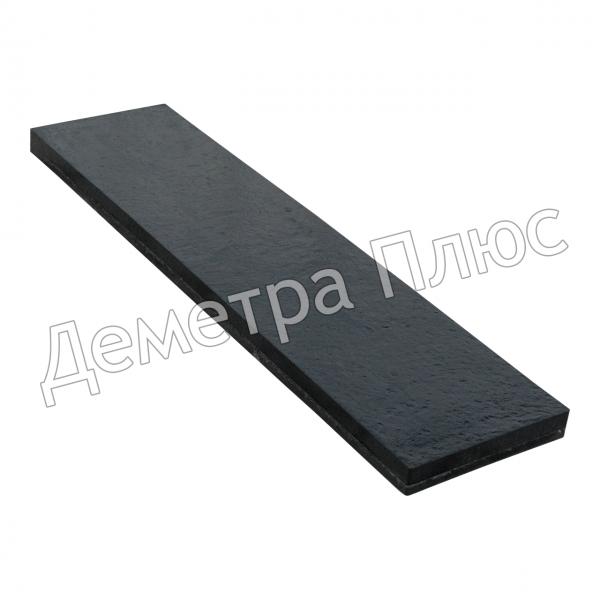 Техпластина 1000×250×40 мм (нож, техпластина отвала)