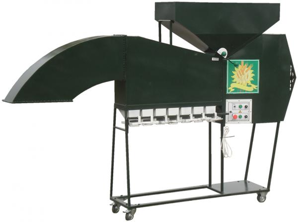 Сепаратор зерна ИСМ-3, очистная и калибровочная машина для лёгких семян