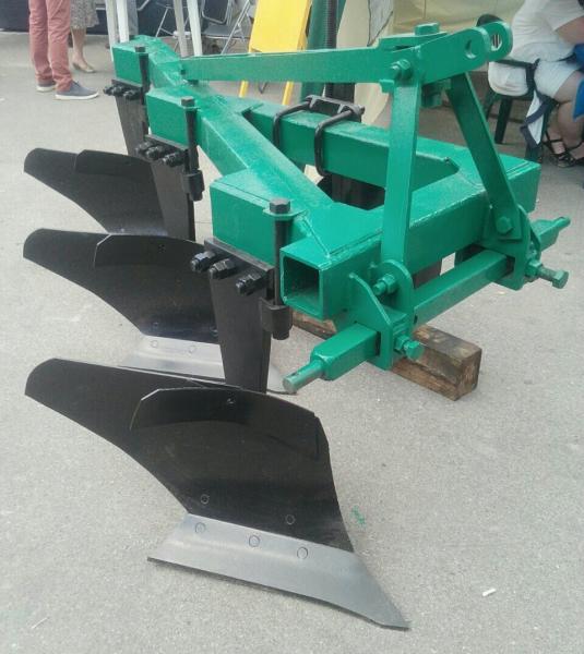 Плуг ПЛН-3-35 с углоснимами (стандарт и высокая стойка)