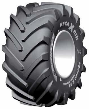 900/60R32 176A8/176B MegaXBib Michelin TL