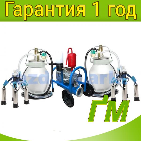 Масляный доильный аппарат Буренка-2 Нержавейка 3000
