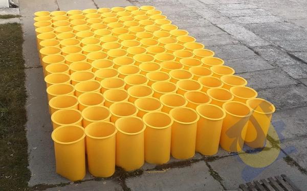 Полиуретановые вкладыши для самотечных зернотоков Ø200-630 мм