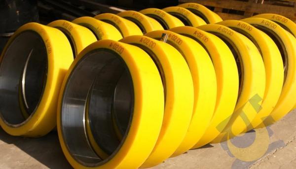 Колеса полиуретановые Ø20-1000 мм
