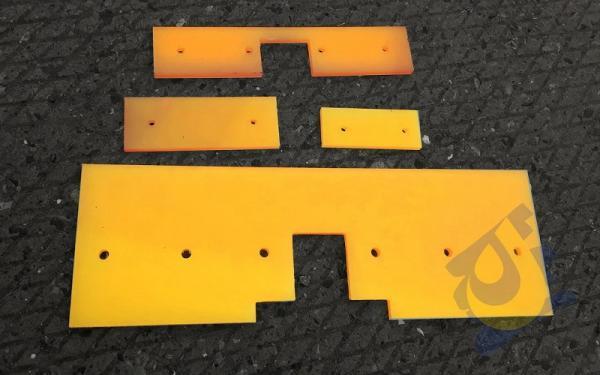 Скребки очистные полиуретановые для конвейеров и транспортеров