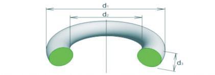 Кольцо уплотнительное 055-061-36