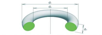 Кольцо уплотнительное 150-155-36