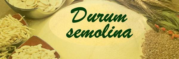 Мука из твердых сортов пшеницы Дурум, крупка дурум для макарон