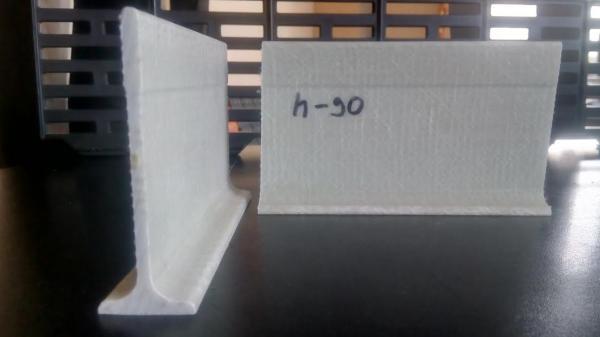 Стеклопластиковые лаги для щелевого пола свиноферм