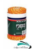 Шнур-плетенка (3-х жильная бечевка) для электропастуха, 250 м
