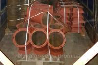 Виготовлює обладнання для коплектації елеваторів, млинів