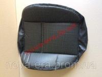 Чехол МТЗ подушки сиденья кожзам перфорирован с поролоном, под шнур (НОВАЯ ЭРА)
