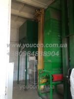 Охладитель гранулы, охладительная колонна с просеивателем для линии гранулирования