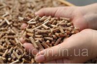 Древесные пеллеты из сосны 6-8 мм