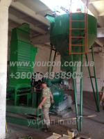 Блок грануляции, линия гранулирования 1000 кг/час