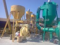 Комплект оборудования линии гранулирования для изготовления твердого биотоплива в виде гранулы