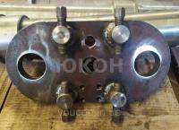 Плита передняя крепления роликов Б6-ДГВ ДГВ 1.01.08.000