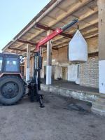 Кран манипулятор для трактора KOZAK-U