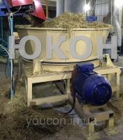 Соломорезка для линии гранулирования сена и соломы