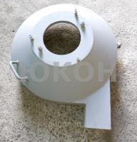 Передняя крышка гранулятора (без питателя) ОГМ-0.8