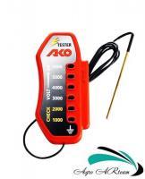 Тестер напряжения 6 000 V для электроизгороди, АКО, Германия