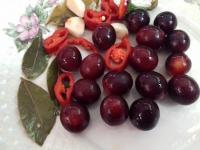 Алыча мелкоплодная, синяя - маринованые плоды вместо оливок, 2-х летние саженцы