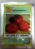 Семена томата BT 986 F1, суперранний, 500 семян BT TOHUM
