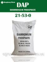 Диаммонийфосфат 21-53-00 DAP Китай аммоний фосфорнокислый 2зам