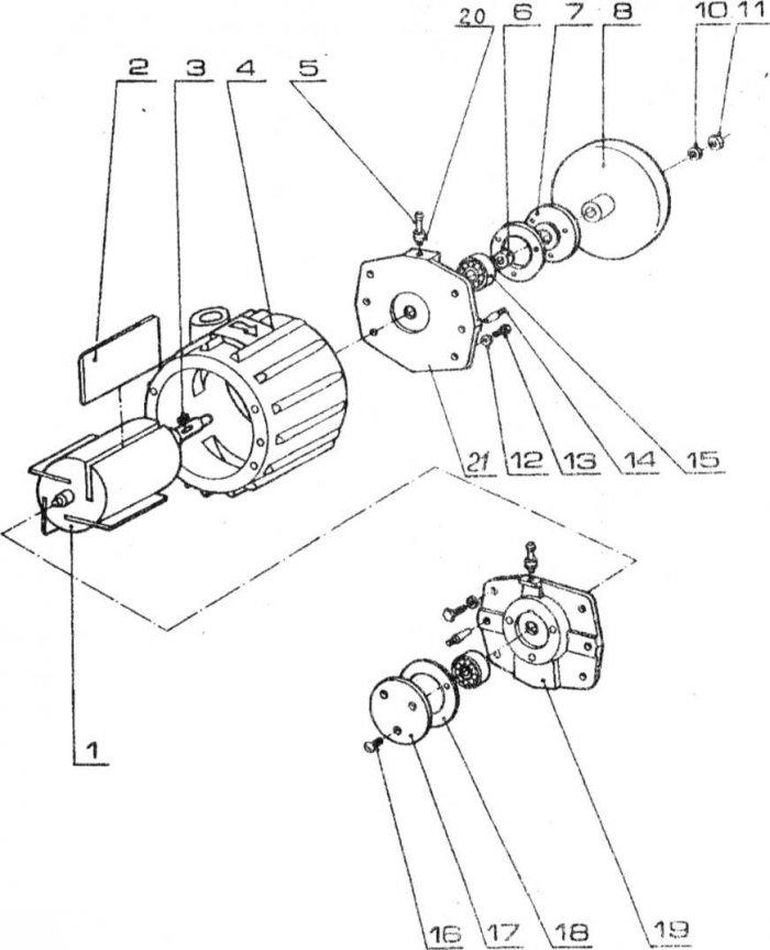 доильный аппарат аид 1-01 инструкция - фото 9
