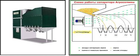 Сепараторы для зерна, крупорушки, Статьи по применению машин и - НПК Агро-Рост : АгроВектор