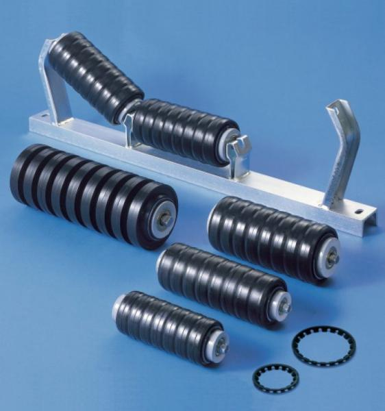 Резиновые ролики для конвейера работа ленточных конвейерах