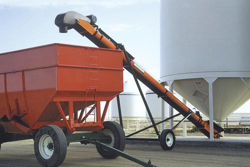 Конвейер зерновой опора шнекового конвейера