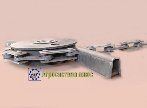 Транспортер для навоза бу конвейер украине