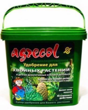 Удобрение для хвойных Agrecol, 5 кг