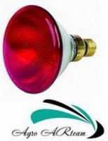 Лампа для обогрева инфракрасная 100 Вт красная (Дания)