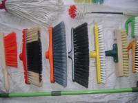 Веники, щётки, совки - всё для уборки