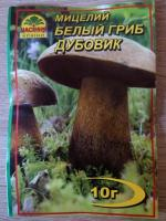 Мицелий Белый гриб Дубовик 10 гр