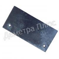 Скребок (лопатка) 130х70 мм верхний БЦС А1-БЦС-100.02.772