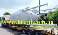 Резервуар (емкость) вертикальный на опорах