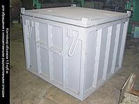 Изготовление контейнеров для радиоактивных отходов