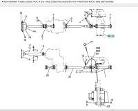 Карданный вал 87371646 (drive shaft) для Case 821E