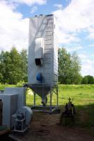 Зерносушилка на твердом топливе