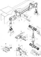 Механизм блокировки подвески КС-3575А.34.000 автокран КС-3575, КС-4574, КТА-18, КТА-32