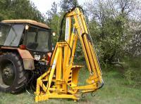 Стрела гидравлическая тракторная модифицированная ГСТм-1000 (манипулятор)