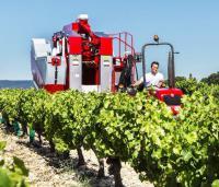 Прицепные виноградоуборочные комбайны