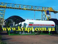 Газовая заправка, модуль LPG, резервуар СУГ 9,96