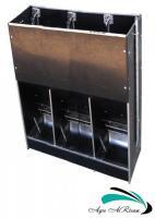 Кормовой автомат АР3ТM c оросителем корма для свиней от 30 кг (односторонний, на 30 голов)